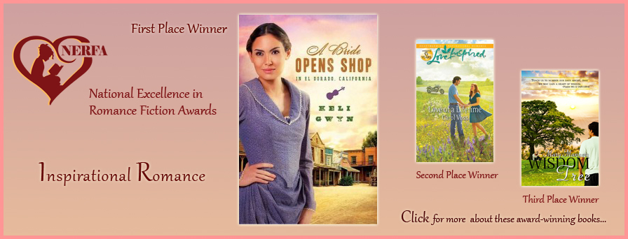 National Excellence in romance Fiction Awards - recognizing award-wining  romance novels.